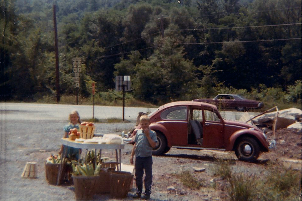 1960's Roadside Produce Stand