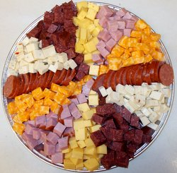 Chunk Meat and Cheese Tray