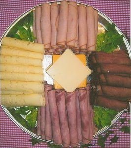 Deli Meat and Cheese Tray